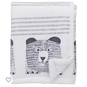 Dwell Studio - Bear Hugs sherpa baby blanket